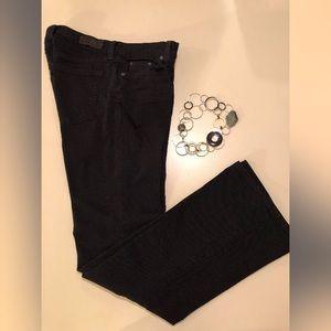 LUCKY BRAND Sweet N' Low Black Boot-Cut Jeans MINT